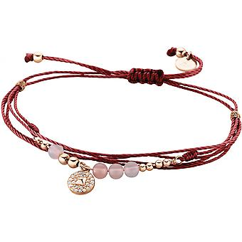 Zeades Sbc01080 bracelet - Bracelet Rose Gold Leather woman
