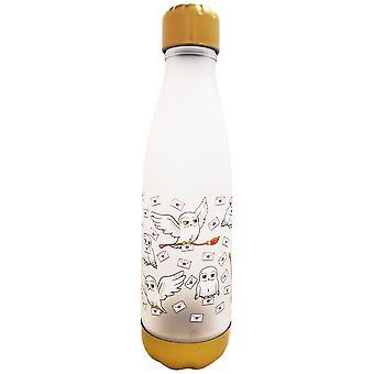 Harry Potter Hedwig Brief Uil 600ml School Plastic Dranken Fles