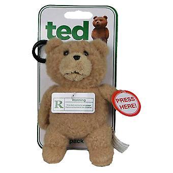 Ted Backpack Clip con il suono