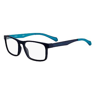 Hugo Boss 1075 FLL Matowe niebieskie okulary