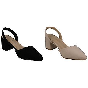 Anne Michelle Damen/Damen breit fitting Slingback Schuhe