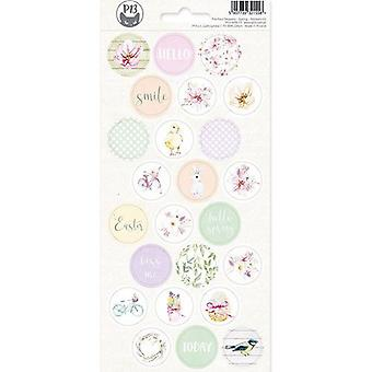 Piatek13 - Sticker sheet The Four Seasons - Spring 03 P13-SPR-13 10.5x23 cm