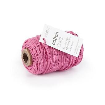 Vivant Cord Cotton fine pink - 50m x 2mm