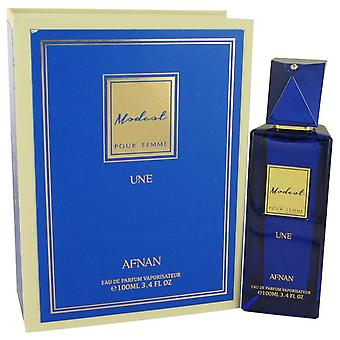 Modeste Pour Femme Une Eau De Parfum Spray par Alvarez 3.4 oz Eau De Parfum Spray