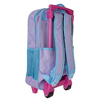 Frozen Childrens/Kids Believe In The Journey Travel Trolley Backpack