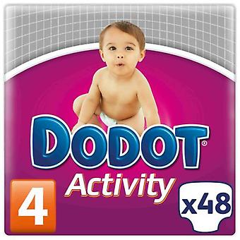 Dodot Activity Diapers Size 4 with 48 Units