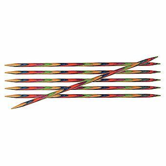 Symfonie: Broches à tricoter: Double-Ended: Ensemble de 6: 15cm x 3.00mm