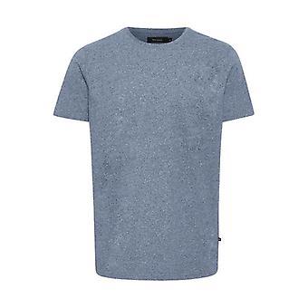 Jermane Mist Blue Marl T-Shirt