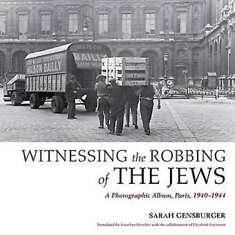 Vitne rane av jøder - en fotografiske Album - Paris - 19