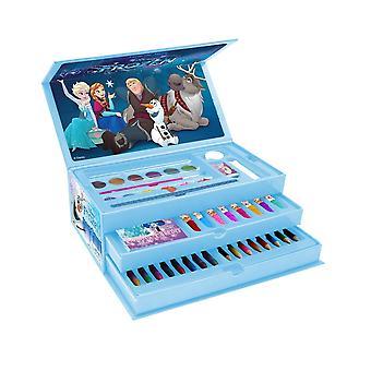 Frozen 2 Childrens/Kids 52 Piece Colouring Case