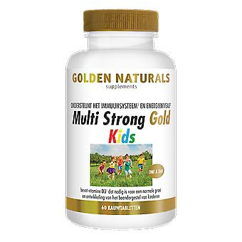 Golden Naturals Multi Strong Gold Kids (60 chewable tablets)