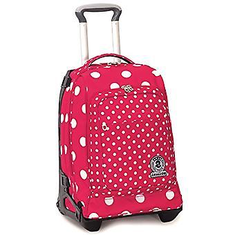 Wózek Tech Invicta-Micro makro Dots-Rosa Pois-34 lt-2w1 niedostępny plecak-Szkoła & podróże