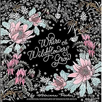 Where the Wildflowers Grow: A Botanical Wonderland of Coloring for Adults