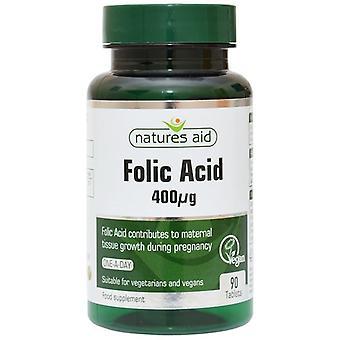 Nature's Aid Folic Acid 400ug Tablets 90 (11520)
