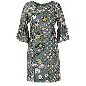 Taifun Evergreen Floral Shift Dress