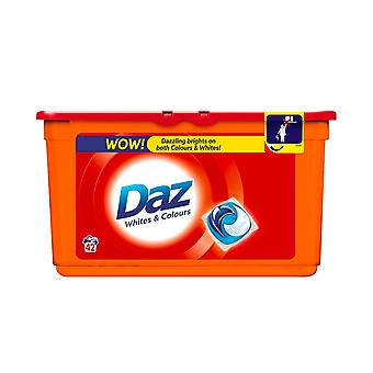 Wash Laundry Pods White Colours Bright Fresh Scent 42 Washes Clean Clothes