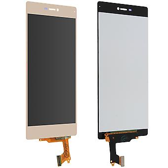 LCD replacement part with touchscreen for Huawei P8 - Gold