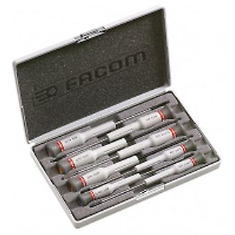 Facom Aef.J6 Micro Tech 8 Piece Screwdriver Set