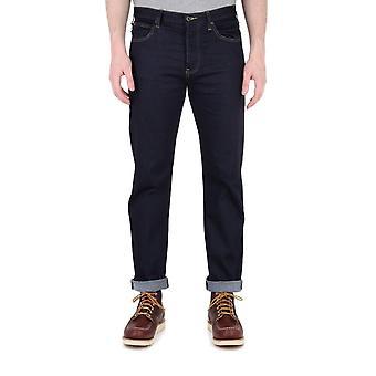 Emporio Armani J21 Indigo Denim Tobacco Stitch Regular Fit Jeans