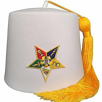 Order wschodniej gwiazdy oes biały fez