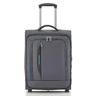 travelite CrossLITE Bagage à main Trolley S, 2 roues, 54 cm, 42 L, anthracite