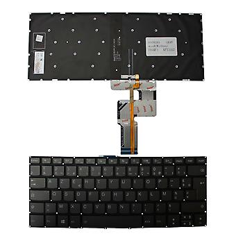 Lenovo IdeaPad 330-14IKB D Hintergrundbeleuchtung grau Windows 8 Französisch Layout Ersatz Laptop-Tastatur