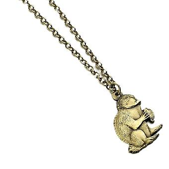 Fantastic Beasts Brass Plated Niffler Pendant Necklace
