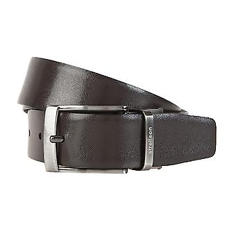 Strellson belts men's belts leather belt belt Brown 1307