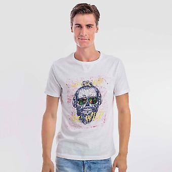 T-shirt bianca selvaggia