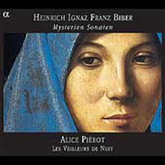 H. Biber - Heinrich Ignaz Franz Biber: Importação de E.U.A. Mysterien Sonaten [CD]