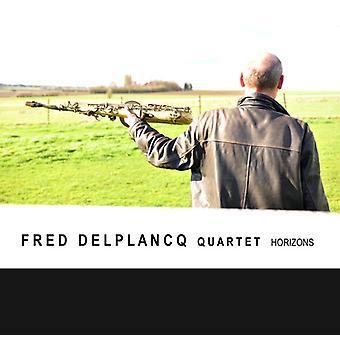 Fred Deltlancq Quartet - Horizions [CD] USA import
