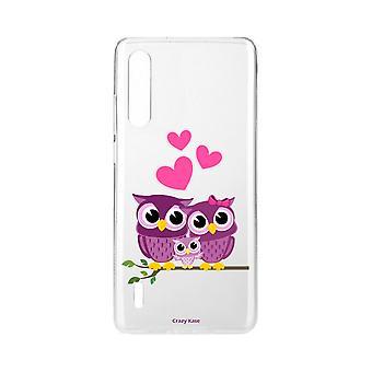Hull For Xiaomi Mi 9 Lite Soft Family Owl