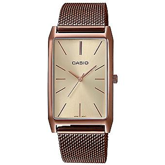 Casio Collection Watch LTP-E156MR-9AEF - Plated Stainless Steel Ladies Quartz Analogue
