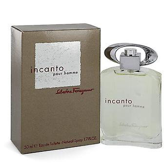 Incanto Eau De Toilette Spray By Salvatore Ferragamo 1.7 oz Eau De Toilette Spray