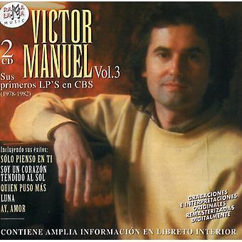 Manuelvictor - Sus Primeros Albumes: 1978-82 [CD] USA import