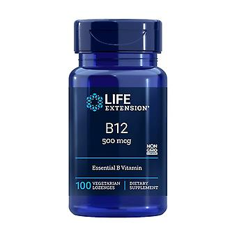 B-12 Sublingual 100 tablets