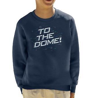 Krystal labyrinten til Dome kid ' s sweatshirt