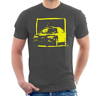 Motorsport Images Subaru Impreza WRC Yellow Men's T-Shirt