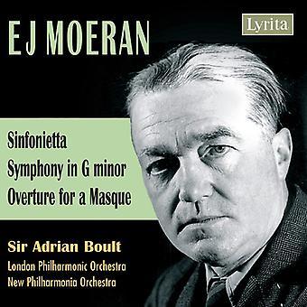 E.J. Moeran - E.J. Moeran: Sinfonietta; Symphony; Overture for a Masque [CD] USA import