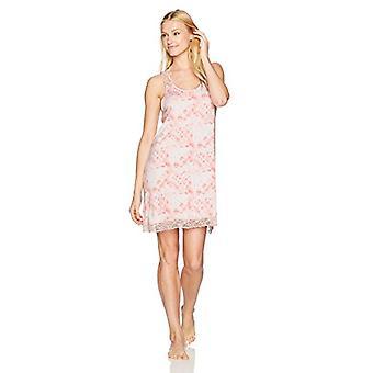 Brand - Mae Women's Sleepwear Racerback Chemise Nightgown, Pink Tie Dy...