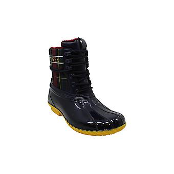 Tommy Hilfiger Women's Hessa Snow Boot, Black, 6