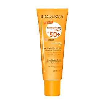 Photoderm Max SPF 50+ Light Tinted Aquafluid Very High Protection 40 ml of cream