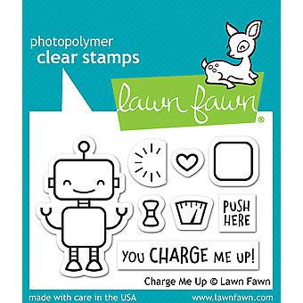 Lawn Fawn Charge Me Up Clear Stamps