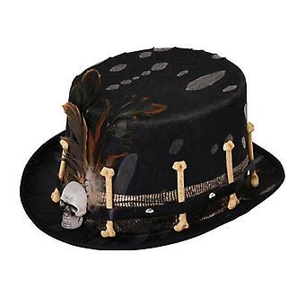 Top Hat Black Voodoo Style