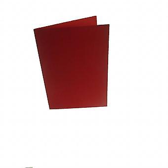 Papicolor 6X Dubbele kaart A6 105x148 mm Rood