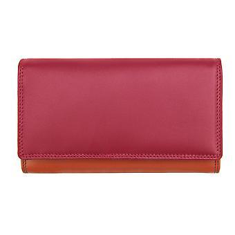 Primehide Matinee Womens Leather Wallet RFID Blocking Purse Ladies 6089