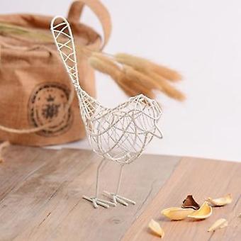 יצירתי ברזל מופשט ציפור מיניאטורות - בציר בעלי חיים פסלון הבית