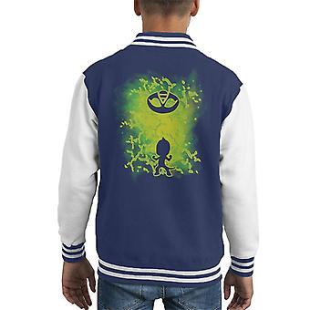 Gecko PJ masker Kid ' s Varsity jakke