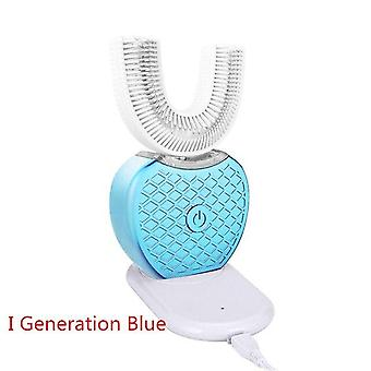 360 Degree Automatic Sonic Electric Silicone Ultrasonic Electronic Tooth Brush With Usb Rechargeable 4 Mode Teeth Cleaner