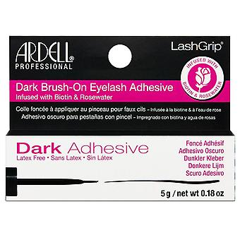 Ardell Brush On Lash Adhesive - 5g Dark Finish - Biotin Infused Formula